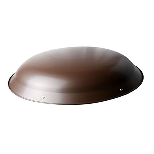 Ventamatic XXMETALDOMEBR Steel Dome for Roof Power Attic Ventilators
