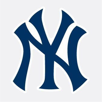 New York Yankees NY Logo Baseball Vinyl Decal 4