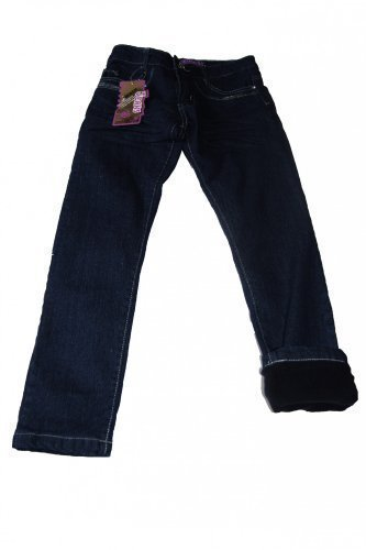 Thermojeans Thermohose Jeans Mädchen warm gefütterte Winterhose viele Grössen, Grösse Bekleidung:92/98