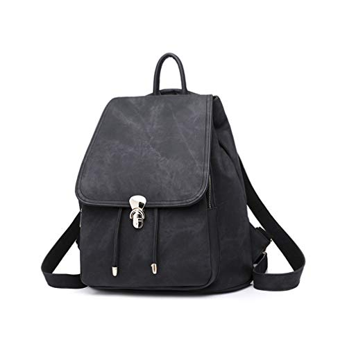 Black Set Bags School Black for Backpack 2Pcs 7SxXq1q