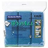 KIM83620 - KIMBERLY CLARK WYPALL Cloths w/Microban