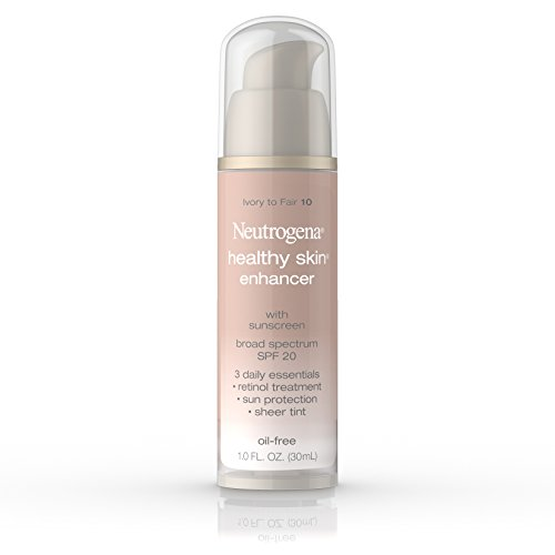 Neutrogena Spf 20 Moisturizer (Neutrogena Healthy Skin Enhancer, Broad Spectrum Spf 20, Ivory To Fair 10, 1 Oz)