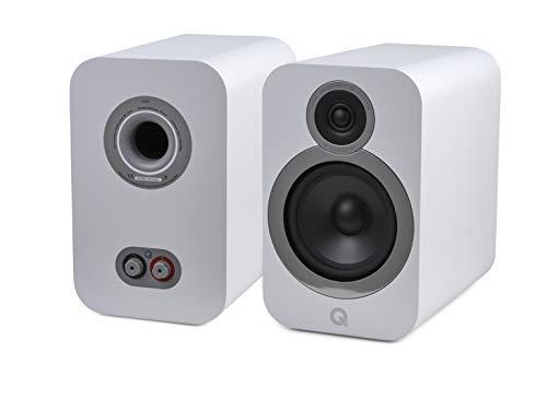 Q Acoustics 3030i Bookshelf Speaker Pair (Arctic White)