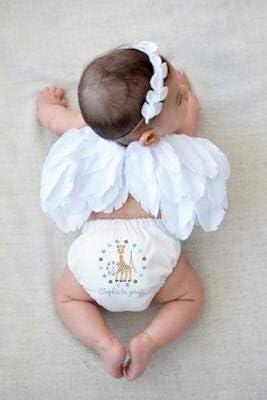 Charlie Banana Nappy All in One Hybrid Pocket Birth to Potty White