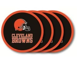 - Duck House Cleveland Browns Coaster Set - 4 Pack