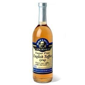 Da Vinci SUGAR FREE English Toffee Syrup with Splenda, (English Toffee Syrup)