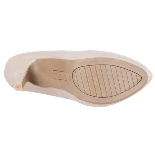 Patent Oscar Microsuede Stilettos Hidden Bamboo Platform Nude Bamboo Womens Womens FRzwUq6
