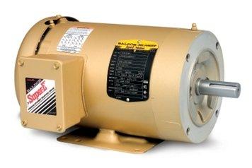 Baldor Electric - CEM3710T - 7-1/2 HP General Purpose Motor, 3-Phase, 1770 Nameplate RPM, Voltage 208-230/460, Frame 213TC