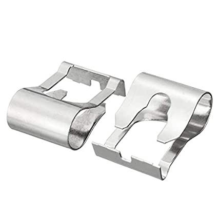 Huihuiya Limpiaparabrisas Varillas de articulación del Motor Brazo Brazo Mecanismo de reparación Clip para Ford-