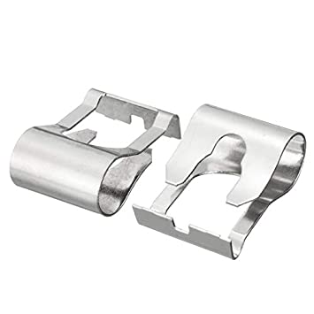Huihuiya Limpiaparabrisas Varillas de articulación del Motor Brazo Brazo Mecanismo de reparación Clip para Ford-Silver: Amazon.es: Hogar