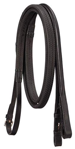 SilverFox Raised Rubber Grip Reins -