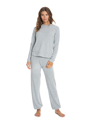 Barefoot Dreams Women's CozyChic Ultra Lite Pullover Hoodie, Casual Polyester Ladies Fall Jackets