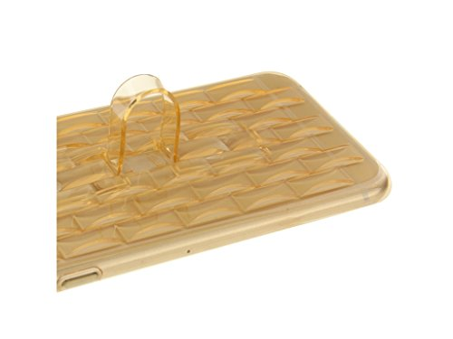 IPhone d'Apple 6s plus 6 Plus Clear Case Gel, Fone-Stuff® - Finger Grip, ultra-mince, de protection TPU Cover - Jaune