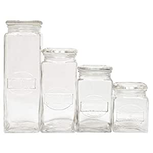 Maxwell & Williams Olde English Storage Jars Set of 4 Gift Boxed