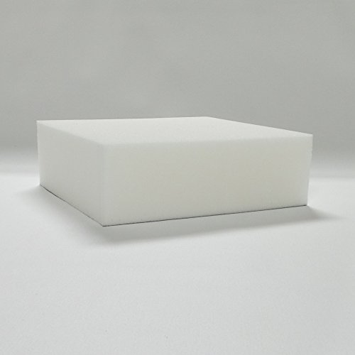 4 inch Soy Based Ultra High 2.4 Density Upholstery Foam - 32 x 72 x 4 inch by Carolina Custom Foam