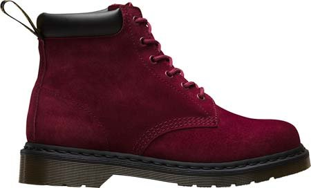 D3252 scarponcino uomo DR. MARTENS 939 marrone vintage boot shoe man Wine Soft Buck