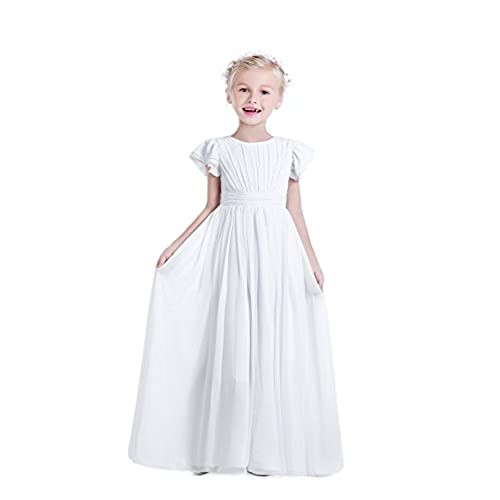 Kids Size White Evening Gowns: Amazon.com