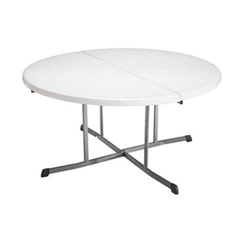 ... Lifetime 25402 60 In Round Fold In Half Folding Table ...