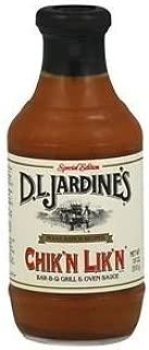 product image for D.L. Jardines Chik'n-Lik'n BBQ Sauce 18 oz(Pack of 12)