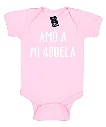 Infant Funny Baby Onesie Unisex S (AMO A MI Abuela (Spanish: I Love My Grandma) ()