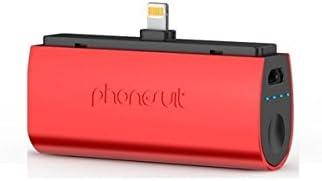 PhoneSuit Flex XT - baterías externas (Rojo, Aluminio, MP3 ...