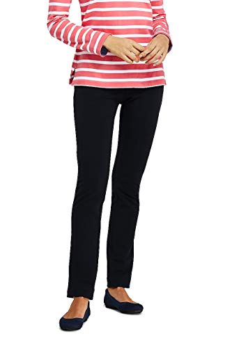 Lands' End Women's Starfish Mid Rise Slim Leg Elastic Waist Pull On Pants from Lands' End