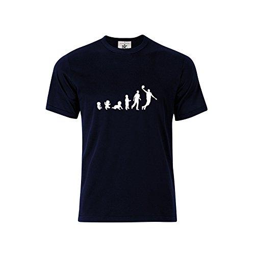 Mygoodprice - Camiseta - para hombre Azul