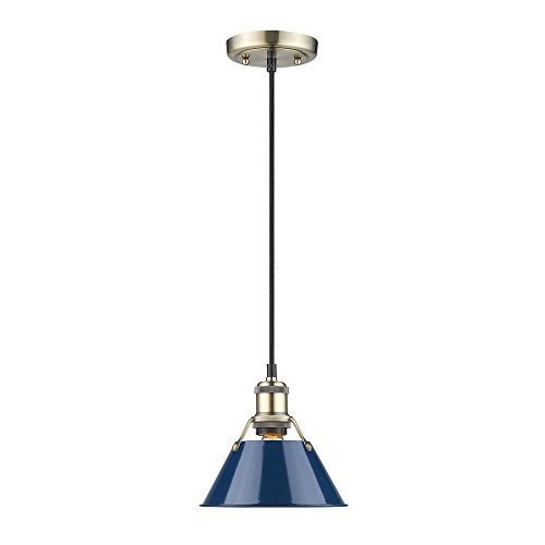 Navy Blue Pendant Light in Florida - 2