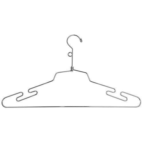 Econoco Commercial Lingerie Hanger with Loop Hook,Steel,16