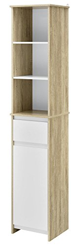 Ameriwood Home Stafford Storage Cabinet Weathered Oak by Ameriwood Home