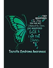 Tourette Syndrome I Am The Storm: Notebook Planner - 6x9 inch Daily Planner Journal, To Do List Notebook, Daily Organizer, 114 Pages