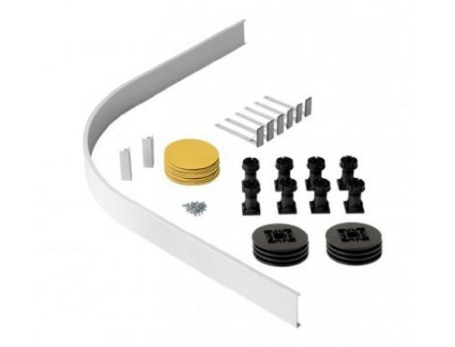 Orca Offset Quadrant Shower Tray Fixing Kit by (Quadrant Shower Trays)