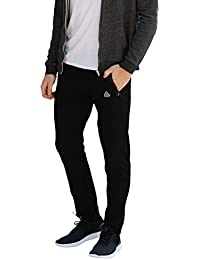 Men's Soccer Track Training Pants Athletic Sweatpants with Zipper Pockets Black Heather Grey Short Long Inseam