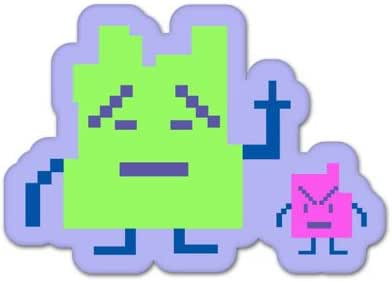 """Aqua Teen Hunger Force 3/"""" sticker set of 3"""