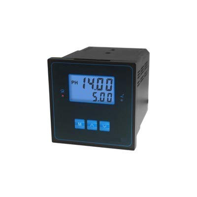 GAO-PHC-101 PH/ORP Controller with High Accuracy (Light Weight),LCD Display,0~14 PH / 1 mv (-1000~1000 mV) Range,0.01 PH Resolution,0~60ºC Operating Temp,220 VAC Max 3A or 600 VA Relay Current.