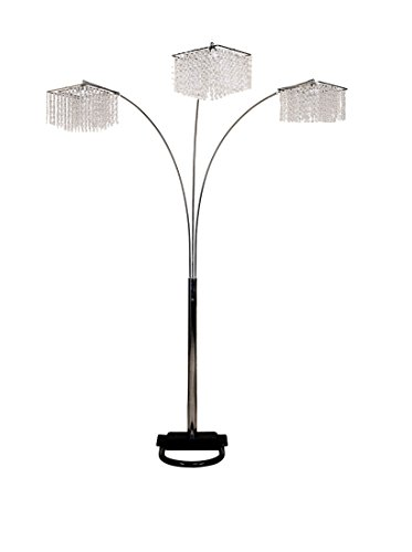 Ore International 6932 84 Inch 3 Light Crystal Inspirational Arch Floor LampArch Floor Lamps for Living Room  Amazon com. Living Room Floor Lamps. Home Design Ideas