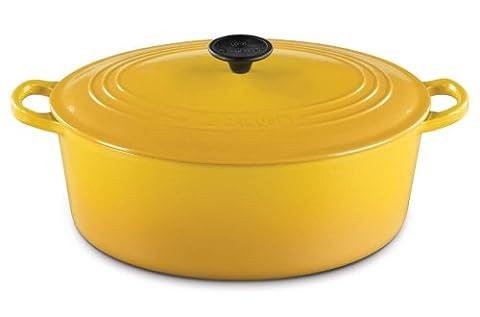 Le Creuset Enameled Cast-Iron 5-Quart Oval French Oven, Dijon