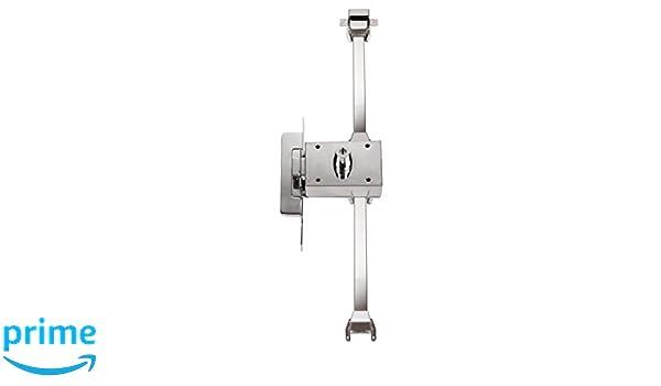 Inceca 3690005 - Cerradura de sobreponer, 3 puntos, solo llave, doble cilindro, izquierda (acero, bombillo de 55 mm): Amazon.es: Bricolaje y herramientas