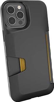 Smartish iPhone 12 Pro Max Wallet Case - Wallet Slayer Vol. 1 [Slim + Protective] Credit Card Holder (Silk) -