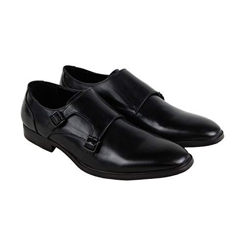 Unlisted by Kenneth Cole Men's Dinner Monk-Strap Loafer, Black, 11 M US