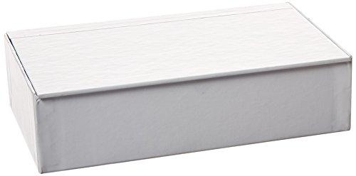 Aurora GB Decorate Me Craft Box, Pencil Size, 8 9/16 in. L x 5 in W x 2 1/4 in. H, White,