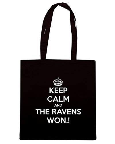 RAVENS AND Shopper THE KEEP Nera TKC1162 Shirt WON Borsa Speed CALM 4Sqw7H4