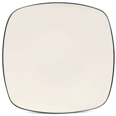 Noritake Colorwave Graphite Square Dinner Plate by - Graphite Noritake Square Colorwave