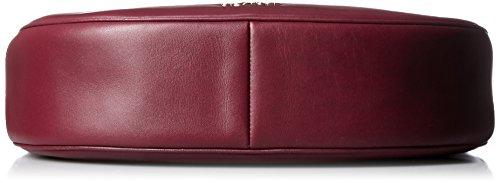 Leather Women's Bag burgundy Nomad Crossbody Coach Li R4wvx7qSgn
