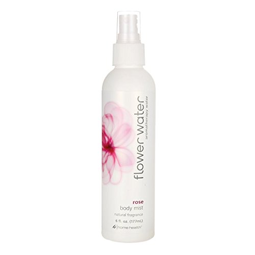 Flower Water, Body Mist, Rose, 6 Oz by Home ()