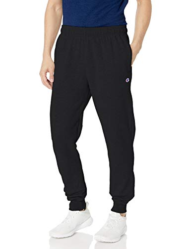 Champion Men's Powerblend Retro Fleece Jogger Pant, Black, X-Large from Champion