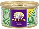 Turkey Formula Cat Food, 3 Oz(case of 3) by Wellness (Pack of 3)