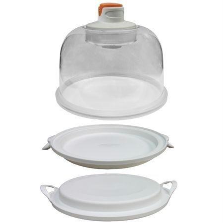 - Weston 83-6001-W Auto Fresh Vacuum Dome Food Storage Container