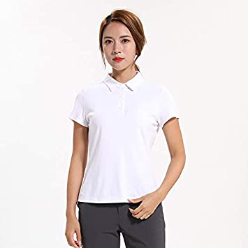 HWTP Golf Polo Shirt - Camiseta Delgada Tridimensional, Fibra de ...