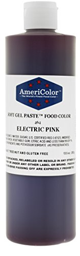 Americolor Food Color Electric Pink 13.5 Oz by AmeriColor